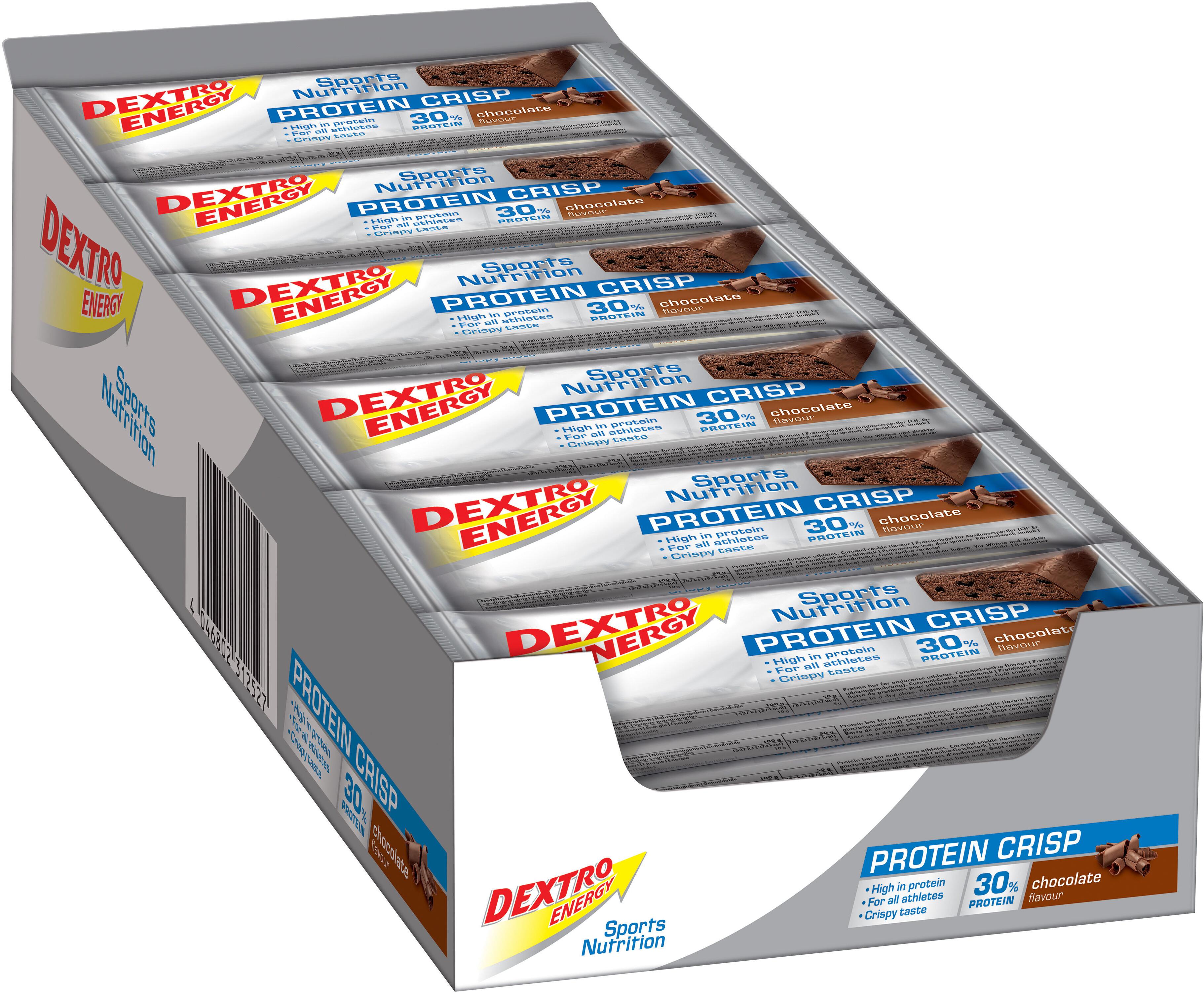Dextro Energy Potein Crisp Sports Nutrition Chocolate 24 X